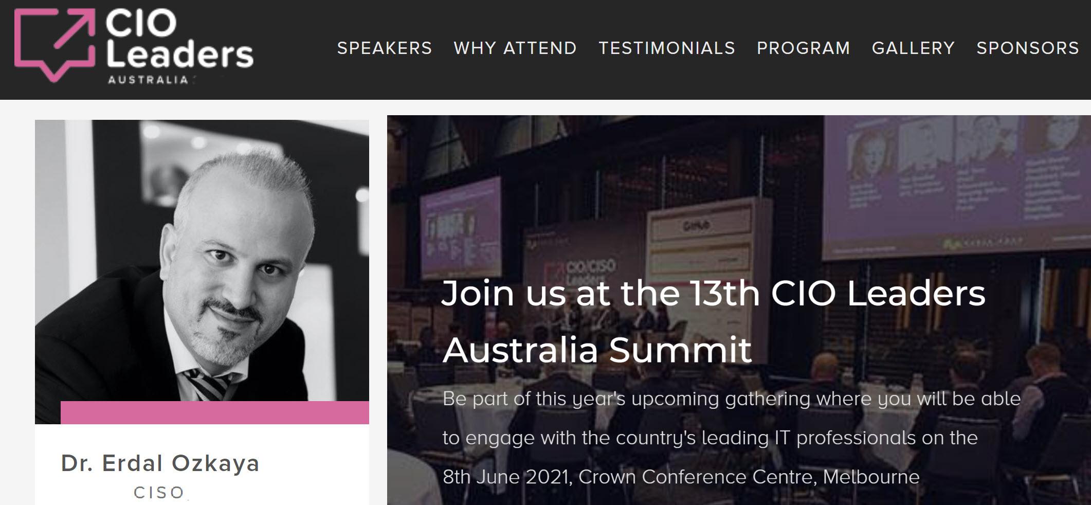 Australian cio leaders summit