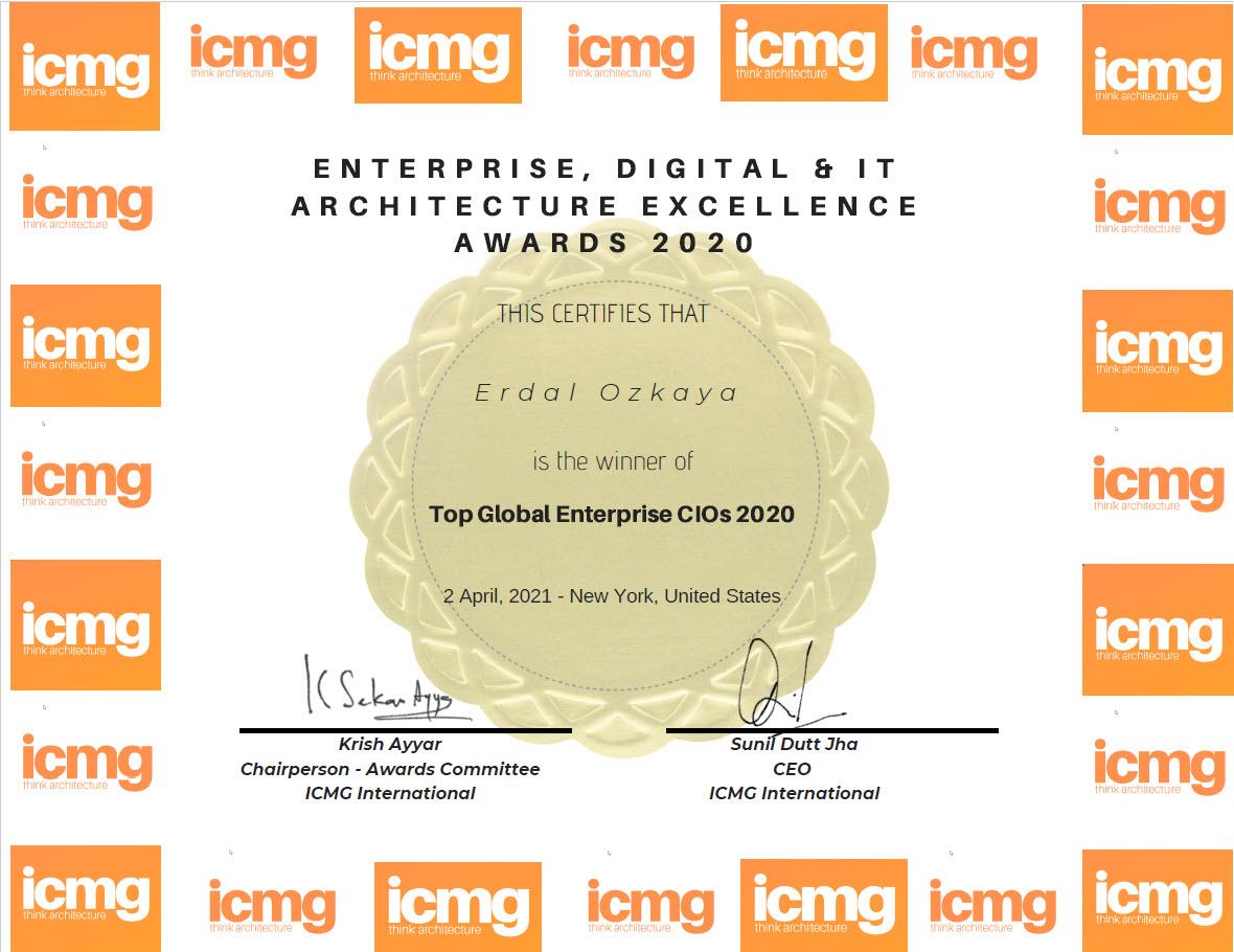 Global Enterprise CIO Award Winner 2021