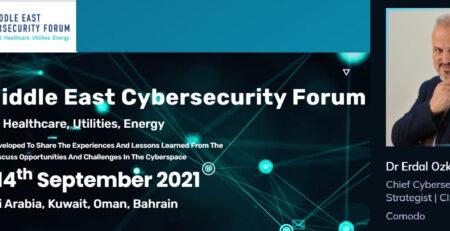 2nd Middle East Cybersecurity Forum Dr Erdal Ozkaya