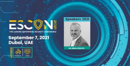 ESCON Global Speaker Dr Erdal Ozkaya