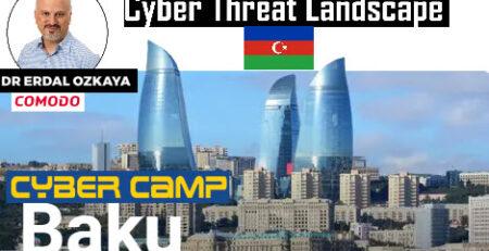 cyber camp baku Erdal Ozkaya