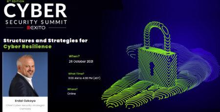 Cyber Summit KSA Erdal Ozkaya